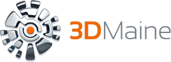 3D Maine Logo